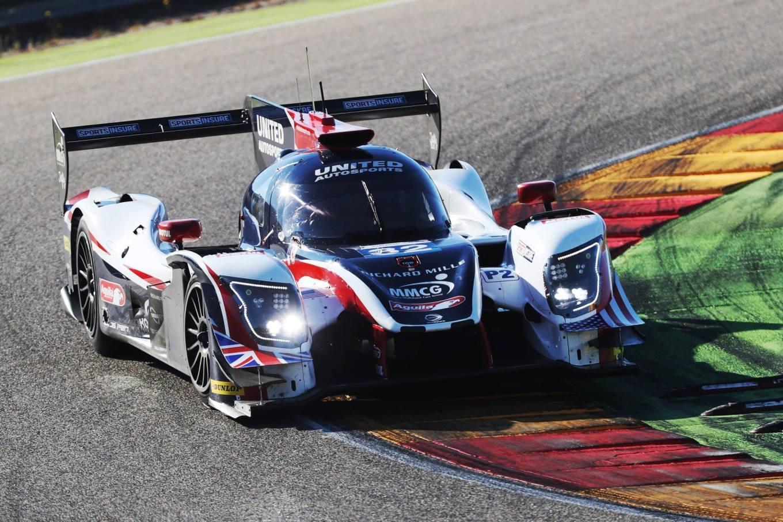 Alonso LMP2 test Aragon